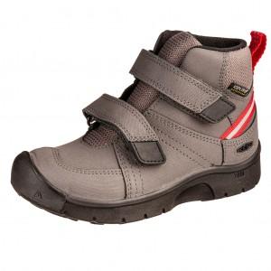 Dětská obuv KEEN Hikeport MID strap WP  /magnet/red carpet - Boty a dětská obuv