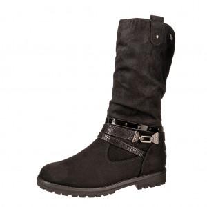 Dětská obuv s'Oliver kozačky 46602 /black - Boty a dětská obuv