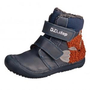 Dětská obuv D.D.Step 063-910M Royal Blue - Zimní