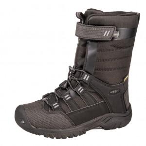 Dětská obuv KEEN Winterport neo WP   /raven/black - Boty a dětská obuv