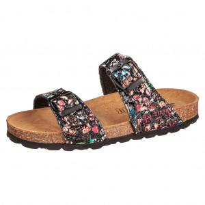 Dětská obuv Domácí obuv Lurchi Olgi black multi - Boty a dětská obuv