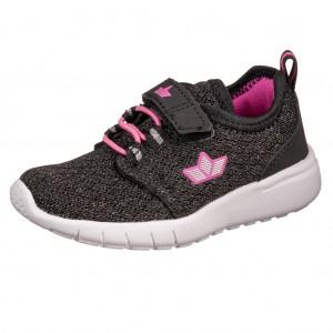 Dětská obuv LICO Pancho VS  /schwarz/silber/pink - Boty a dětská obuv