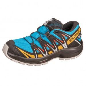 Dětská obuv Salomon XA Pro 3D CSWP J  /hawaiien ocean -  Sportovní