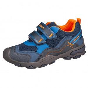Dětská obuv GEOX J Buller B   /blue/orange - Boty a dětská obuv