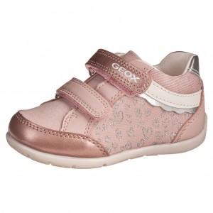 Dětská obuv GEOX B Elthan  /lt.rose/silver - Boty a dětská obuv