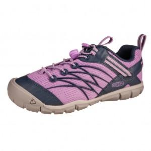 Dětská obuv KEEN Chandler   african violet/navy - Boty a dětská obuv