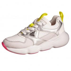 Dětská obuv GEOX J Bubblex G   /white/silver - Boty a dětská obuv