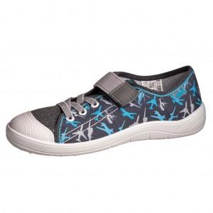 Dětská obuv Plátěnky Befado -  Na doma a do škol(k)y