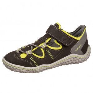 Dětská obuv Ricosta JEFF /schwarz/neongelb/grau *BF WMS M - Boty a dětská obuv
