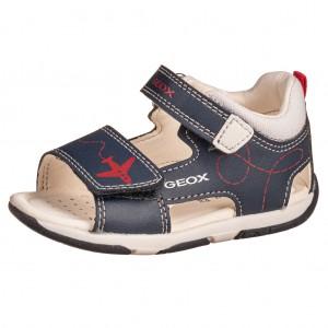 Dětská obuv GEOX Tapuz B.  /navy/red -  Sandály