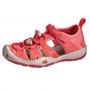 Dětská obuv KEEN Moxie sandal   tea rose/vapor -  Sandály