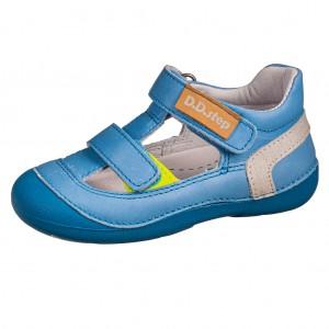 Dětská obuv D.D.Step  015-620B Sky Blue  *BF -  První krůčky