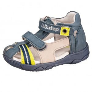 Dětská obuv D.D.Step AC64-826 Royal Blue -  Sandály