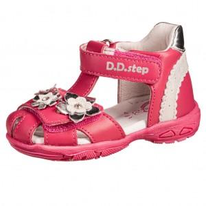 Dětská obuv D.D.Step AC290-384 Dark Pink -  Sandály