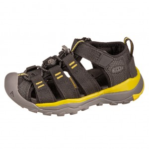 Dětská obuv KEEN Newport Neo H2 /black/evening primrose - Boty a dětská obuv
