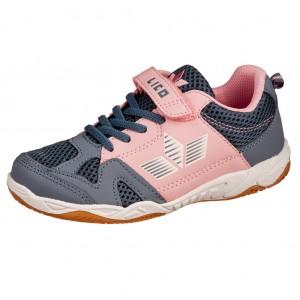 Dětská obuv LICO Sport VS   grau/rosa -  Sportovní