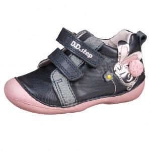 Dětská obuv D.D.Step  S015-511B Royal Blue *BF -  První krůčky
