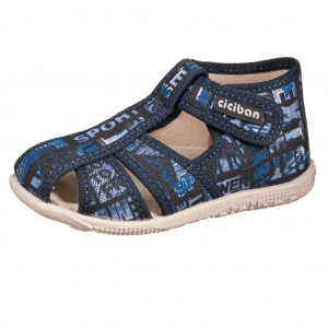 Dětská obuv Domácí obuv Ciciban VICKS -  Na doma a do škol(k)y