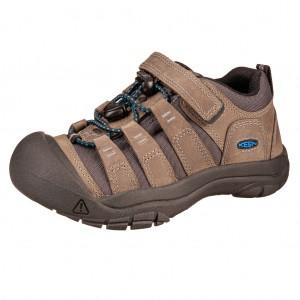Dětská obuv KEEN Newport shoe  /steel grey/brilliant blue -  Do hor nebo nížin