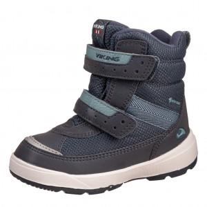 Dětská obuv VIKING Play II R GTX   /navy/charcoal - Boty a dětská obuv
