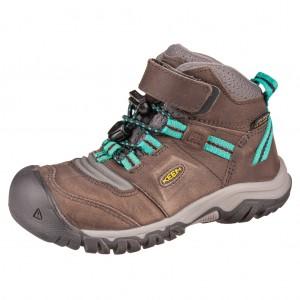 Dětská obuv KEEN Ridge flex MID WP  /magnet/greenlake -