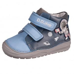 Dětská obuv D.D.Step  A071-516A Royal Blue -  Celoroční