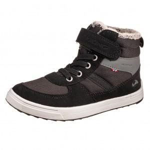 Dětská obuv VIKING Lucas MID WP   black/grey - Boty a dětská obuv